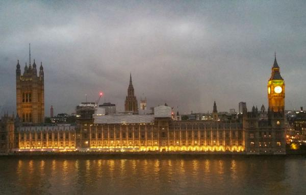 Parliament from St Thomases